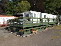Static Caravan for sale in excellent condition having been fully refurbished.