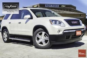 2012 GMC Acadia SLT. BACKUP CAM. REMOTE START. 7 PASSENGER