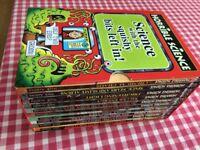 Box set of horrible science books