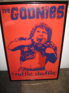 The Goonies - Framed Movie Poster - The Goonies Truffle Shuffle