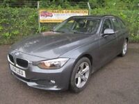 BMW 3 Series 316 SE Touring Turbo Diesel Estate Step Auto (mineral grey) 2014