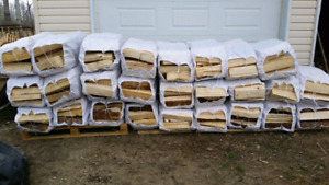 FIREWOOD !! LARGE BAGS  90LBS