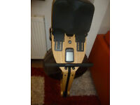 WEIGHT TRAINING EQUIPMENT AND ROWING MACHINE IN GOOD CONDITION