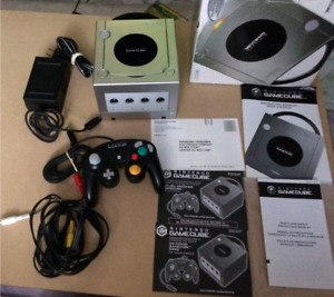 Boxed GameCube system w/game/controller $80