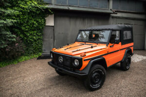 Mercedes G - GD240 1987 Restored G500 G55 G class G Wagon
