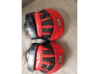 Boxing hook and jab pads