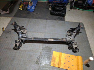 MK4 20th/337 GTI rear beam with -4 Camber drop plates