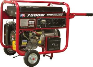 NEW All Power 7500 watts Gas generator with electric start