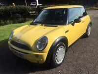 2002 Mini One 12 months mot cheap small car good condition