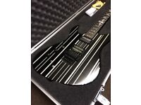 Schecter Left hand Synyster Gates Custom-S Black Silver Guitar