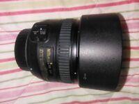 Nikon (Nikkor) AF-S 50mm f1.4G lens & UV filter