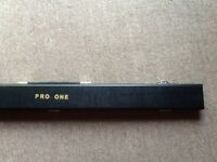 Snooker cue and case, never used, cue still sealed!!