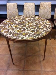 TABLE À MANGER SET DE CUISINE VINTAGE RETRO MID CENTURY KITSCH