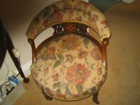 ANTIQUE NURSING CHAIR OVER 85 YEAR OLD