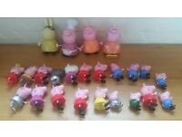 Peppa pig figures big one £2 small one£1
