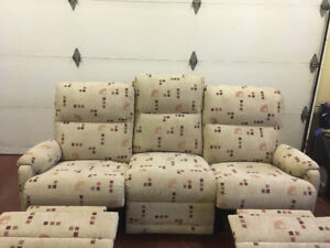 Great condition reclining sofa