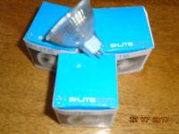 3 X SI-LITE DICHROIC HALOGEN MR16 LAMP BULBS