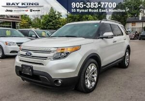 2012 Ford Explorer LIMITED, 4X4, NAVI, SUNROOF, BACKUP CAM, LEAT
