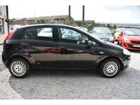 Fiat Grande Punto 1.2 Active 5 DOOR BLACK 2008 MODEL