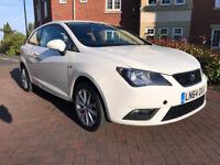 SEAT Ibiza 1.4 16V TOCA SC 85PS (white) 2014