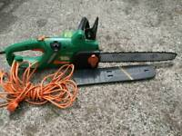 Black and Decker electric 40cm chainsaw