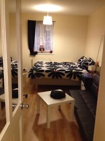 Double room available in a new apartment 2 min min walk from tube station