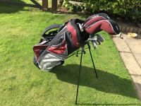 Ben Sayers MX7 R/H set of Golf Clubs and Bag