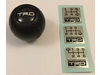 GENUINE TRD BALL TYPE SHIFT KNOB TOYOTA MR2 MK1 MK2 MK3 TURBO NA 3SGTE CELICA STARLET 33504-SP006