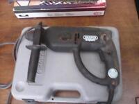 draper expert 500 watt sds hammer/rotary drill