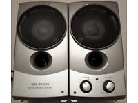 Sony Speakers SRS-Z01000 With 3.5mm Cable Active Speaker System Looks Stylish And Cool! £5! Faulty!