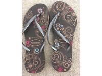 Barely worn Havaianas size 39-40