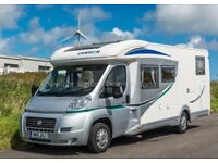 Chausson Welcome 88, 2011, 5700 Miles, One Owner, 3 Berth, Fixed Bed, Garage, 4 Belted Seats