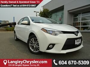 2014 Toyota Corolla LE *ACCIDENT FREE*ONE OWNER*