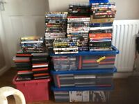 DVDs and blu-Rays for sale