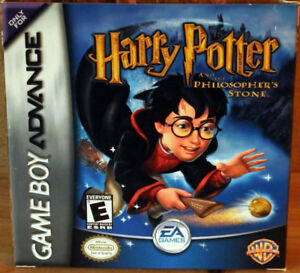 Harry Potter and the Sorcerer's Stone - Game Boy Advance