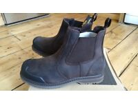 Brand new Site men's work boots, size 9