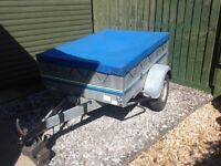 Car Trailer 3.5ft x 5ft - Good condition