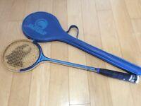 Jaguar Squash Racket with carry case
