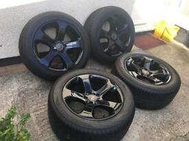 """19"""" BMW X5 wheels with new tyres 5x120"""