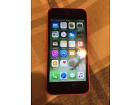 iPhone 5c faulty 8gb pink