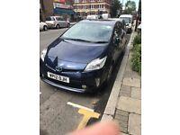 Toyota Prius 1.8 VVTi T4, UK MODEL (PCO) Parking camera , Bluetooth,Satellite navigation,