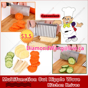 Multifunction Cut Ripple Wave Kitchen Knives