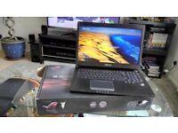 """Asus gaming laptop 17"""" G750JW"""
