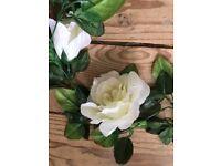 Shabby Chic, Vintage Rose Garland