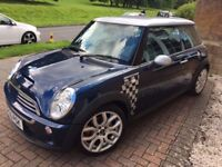 Mini Cooper 'S' John Cooper Works JCW in stunning condition and very low mileage.