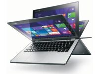LENOVO YOGA 2, LED FHD,Touchscreen IPS, Laptop/Tablet QuadCore,500GB, 4GB,MSOffice