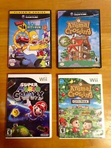 Nintendo Gamecube and Wii games $30 each