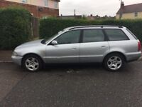 AUDI A4 1.8 SPORT TURBO SPORT ESTATE CAR, TAXED AND MOT ONLINE.