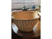 Willow Laundry Basket large Size (new)