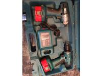 Makita twin drill set